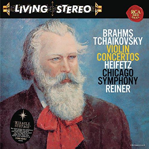 Brahms: Violin Concerto in D Major, Op. 77 - Tchaikovsky: for sale  Delivered anywhere in USA