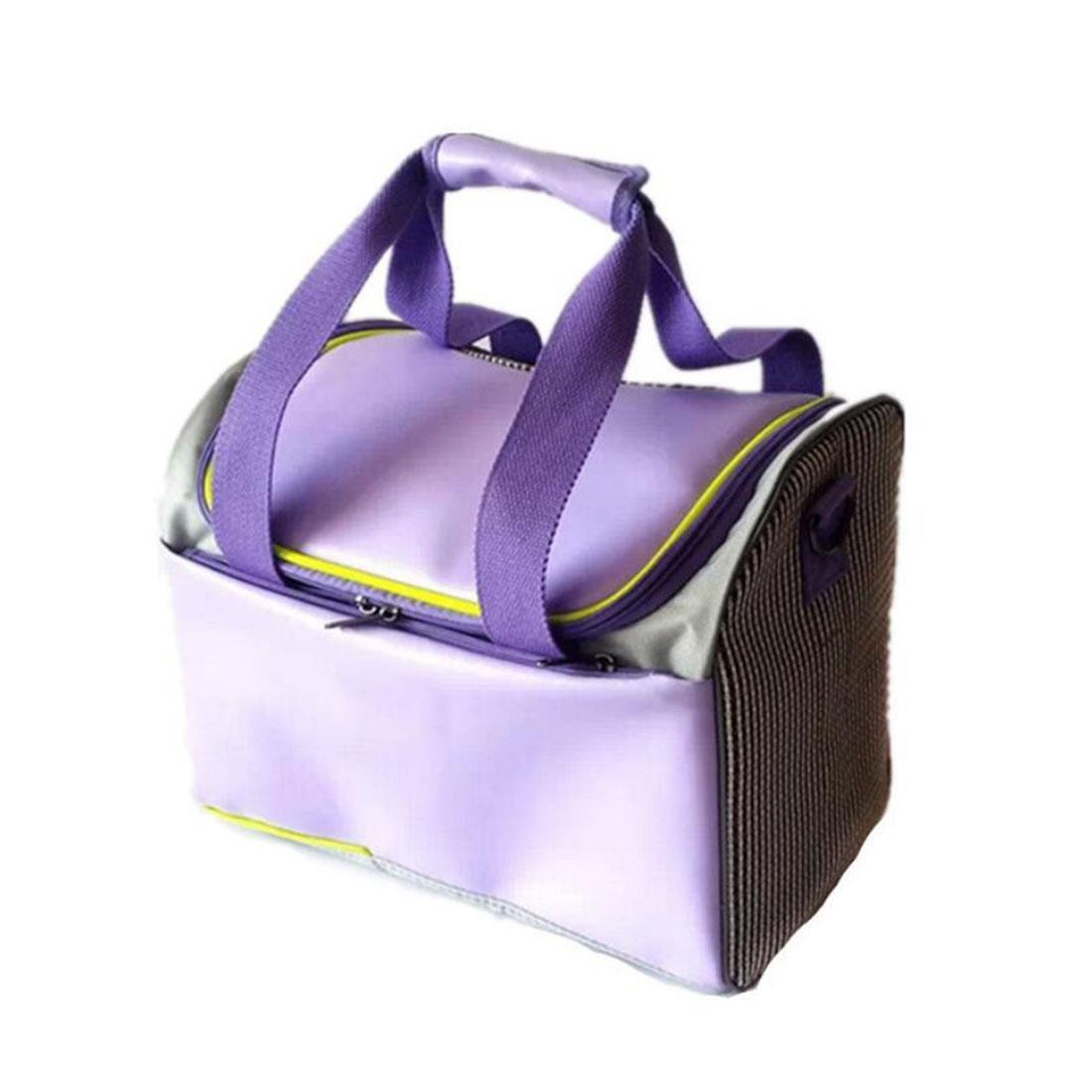 LVRXJP Transport Portable Outdoor Single Shoulder Handbag Travel Pet Sling Dog Cat Carrier Bag Pink, l