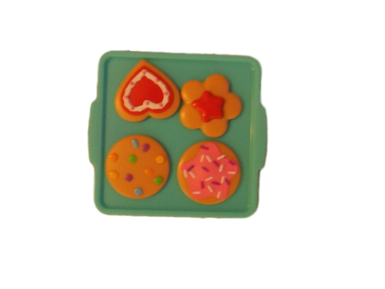 Little Tikes Bake ' N Grow Kitchen (モデル485176 )交換パーツ/ Pieces : 4 Cookie & 1 Cookie Baking Sheet Tray / Pan   B077YW93PC
