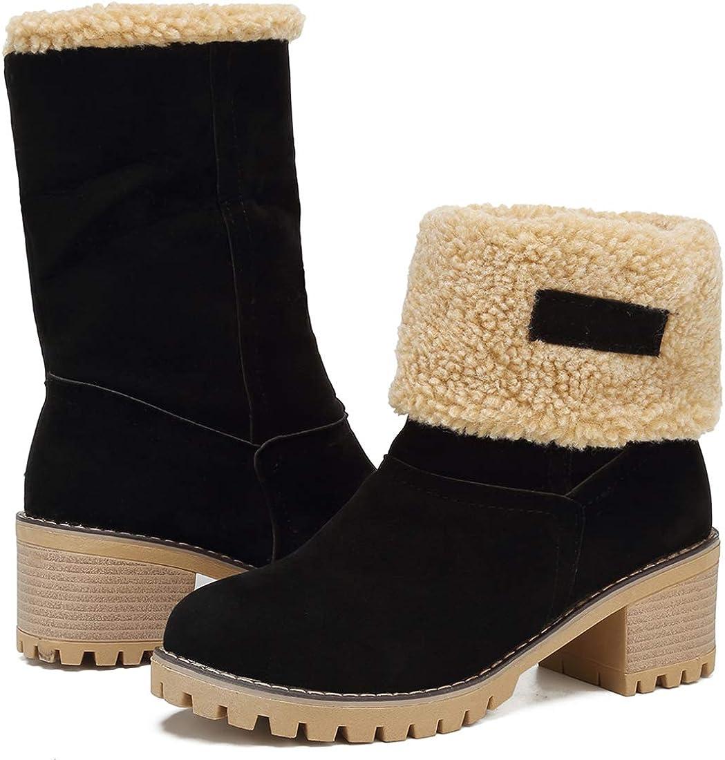Amazon.com   GOUPSKY Winter Snow Boots
