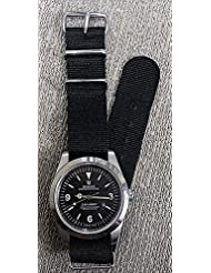 Reproduction US Military Black Rolex Oyster Perpetual Chrono WristWatch (Swiss Remade)