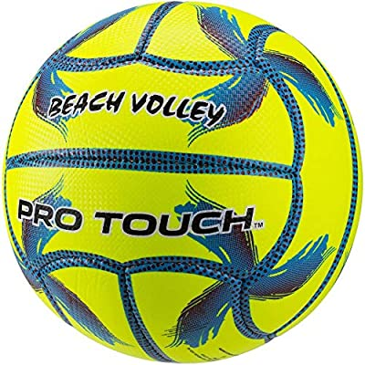 Pro Touch Top IDE - Balón de voley Playa, Amarillo/Azul/Lila, 5 ...
