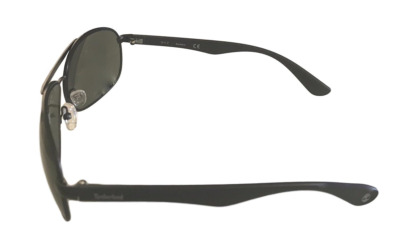 Amazon.com: Timberland Mens de metal Aviator anteojos de sol ...