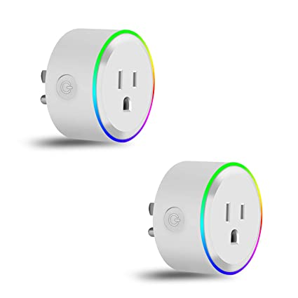 Wifi Smart Plug, Elegant Choise Smart Outlet with Nightlight Mini
