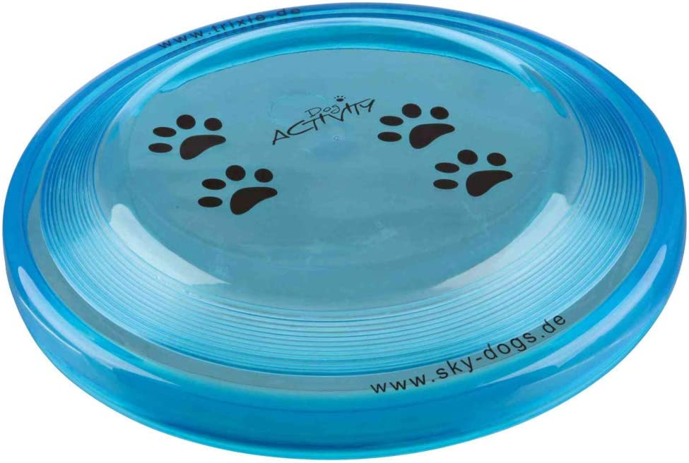 TRIXIE Disc Dog Activity, Plástico extra Resistente, ø23 cm, Perro