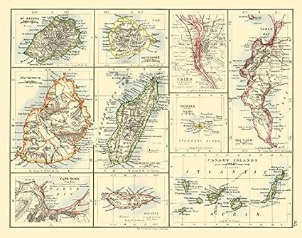 African Islands Mauritius Madagascar Madeira Canaries St Helena