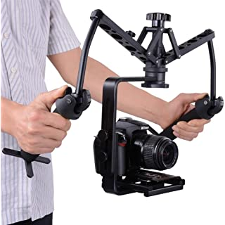 SolidGears Digitek DST-002 Spider Gimbal, shock absorber, Dual handheld stabilizer, steadicam glidecam steady rig for DSLR Mirrorless camera Digital C at amazon