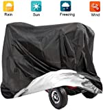 VVHOOY Mobility Scooter Cover, 210D Oxford Heavy Duty Waterproof 4 Wheel