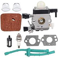 String Trimmer förgasare Kit Carb Replacement Kompatibel med sthil FS38 FS45 FS46 FS55 KM55 FS85 ogräs, pneumatiska…
