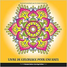 Livre De Coloriage Pour Enfants Mandala Enfant Coloriage