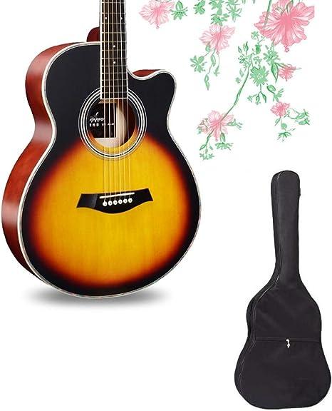 Guitarra Acústica Pop Popular Sonido Ajustable Práctica De Actuaciones Estudiantiles Mochila Impermeable Puede Llevar 2 Tamaños, 4 Colores BAIYING (Color : Orange, Size : Long-105cm): Amazon.es: Hogar