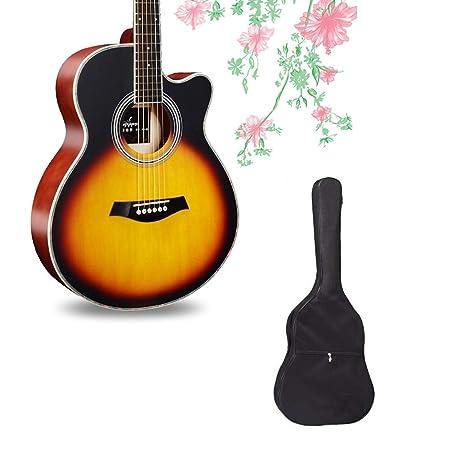 BAIYING-Guitarra Acustic Pop Popular Sonido Ajustable Práctica De ...