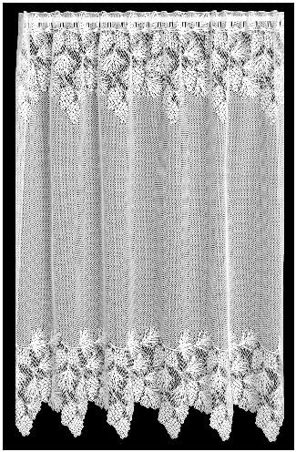 Heritage Lace Woodland 60-Inch Wide by 63-Inch Drop Panel, Ecru