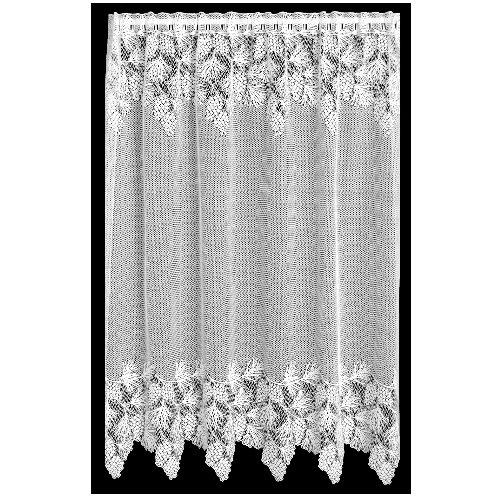 Heritage Lace Woodland 60-Inch Wide by 63-Inch Drop Panel, White