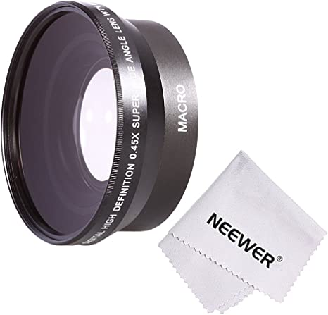 Neewer® 67 mm 0.45 x Profesional HD Wide Angle Lens (W/porción ...