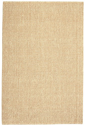 Anji Mountain AMB0308-0810-A Zatar Jute and Wool Rug, 8' x 10', Natural Anji Mountain Natural Jute