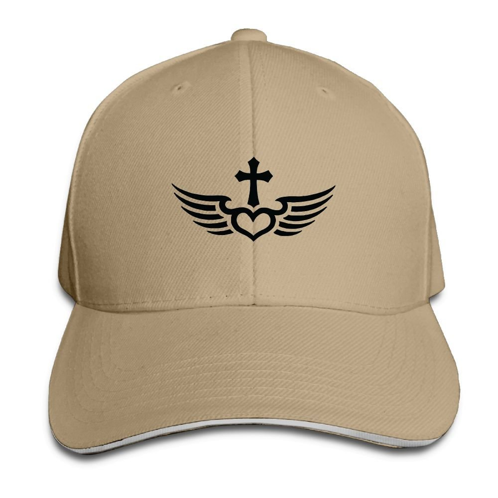 Fly with Christ Cross Baseball Caps Adjustable Back Strap Flat Hat