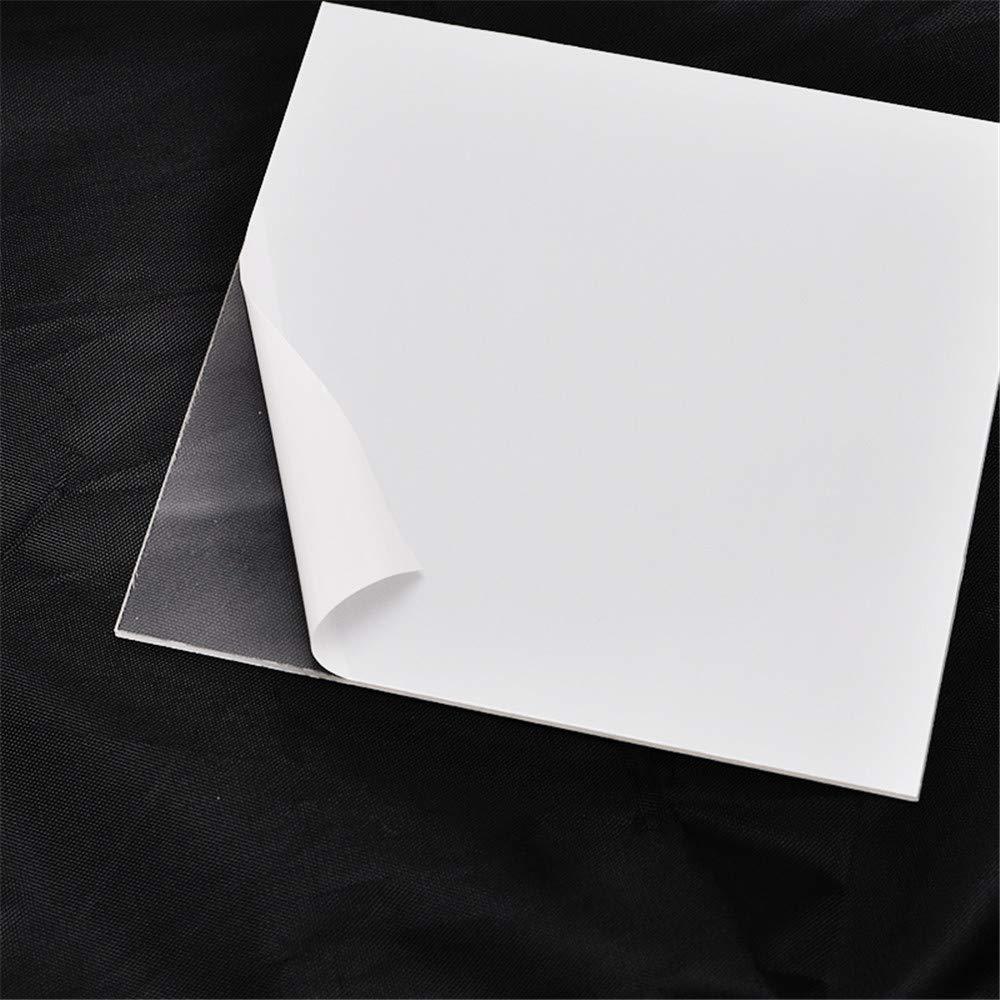Dental Lab Vacuum Forming Plastic Sheets Thermoforming Plastic Sheet Splint Material Hard 20pcs
