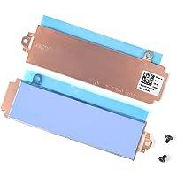 DAMOMCO Slot 1/Slot 2 M.2 2280 SSD Hard Drive Heatsink Cover 26X1Y Thermal Pad Heat Shield Bracket for DELL Alienware…