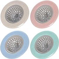 Amaoma 4 Piezas Fregadero Filtro Anti-Obstrucción Filtro Colador