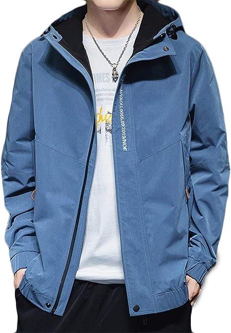[ディーハウ]マウンテンパーカー ウィンドブレーカー ジャケット メンズ アウター スカジャン ブルゾン ジャンパー スタジャンミリタリー カジュアル スポーツ アウトドア ファッション きれいめ 大きいサイズ おしゃれ