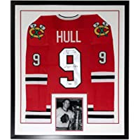 $399 » Bobby Hull Signed Chicago Blackhawks Jersey & HOF 1983 Inscription - Beckett Authentication Services BAS COA Authenticated - Professionally…