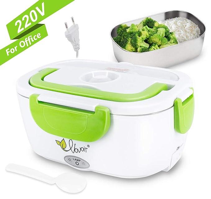 Fiambrera eléctrica comida térmico Lunch Box Fiambreras bento con ...