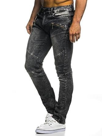 Leif Nelson LN273D Pantalones vaqueros para hombre