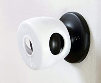 4-Pack Baby Safety Door Knob Covers DoorKnob Locks Child Children Kids Proof New