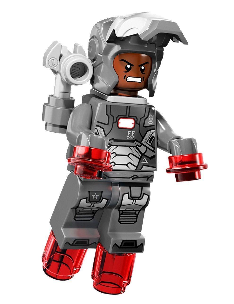 Amazon.com: War Machine LEGO minifigure, from set 76006: Toys & Games