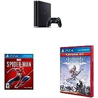 PS4 Slim + Spiderman + Horizon Zero Dawn: Complete Hits Edition