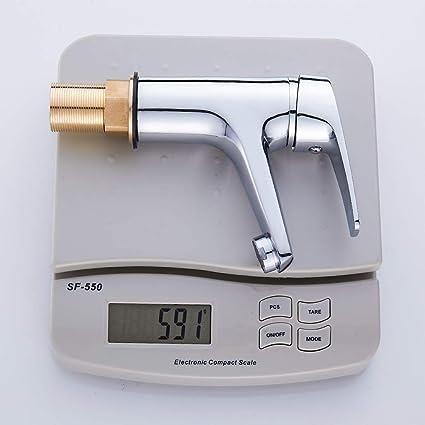 Grifos de lavabo kisimixer grifo para baño con filtro cerámico y Neoperl aireador avanzado, grifo monomando para lavabo: Amazon.es: Bricolaje y herramientas