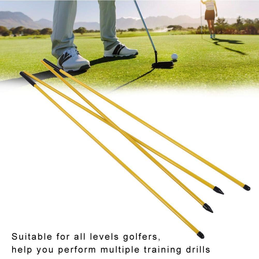 Ayuda de entrenamiento de swing de golf, práctica de fibra ...