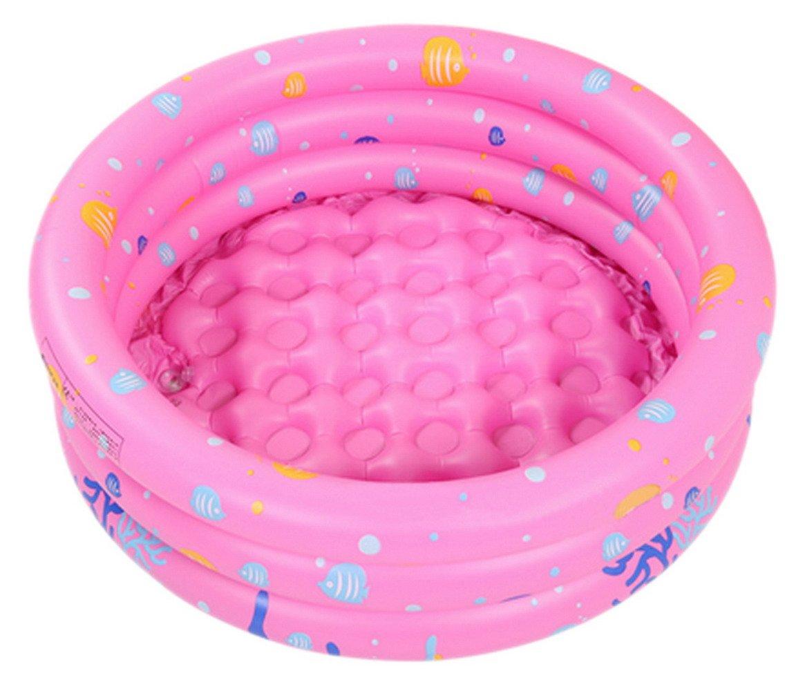 La vogue piscina hinchable redonda (80 * 80 * 35 cm niños ...