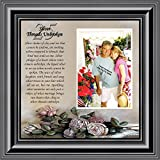 Silver Threads Unbroken, Personalized 25 Anniversary Picture Frame, 10x10 6778B