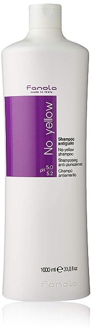 Fanola No Yellow Shampoo Large Bottle, 33.8 Fl Oz