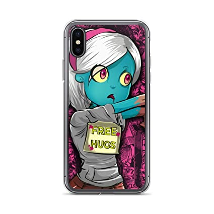 Amazon.com: iPhone X/XS Case Anti-Scratch Animated Cartoon ...