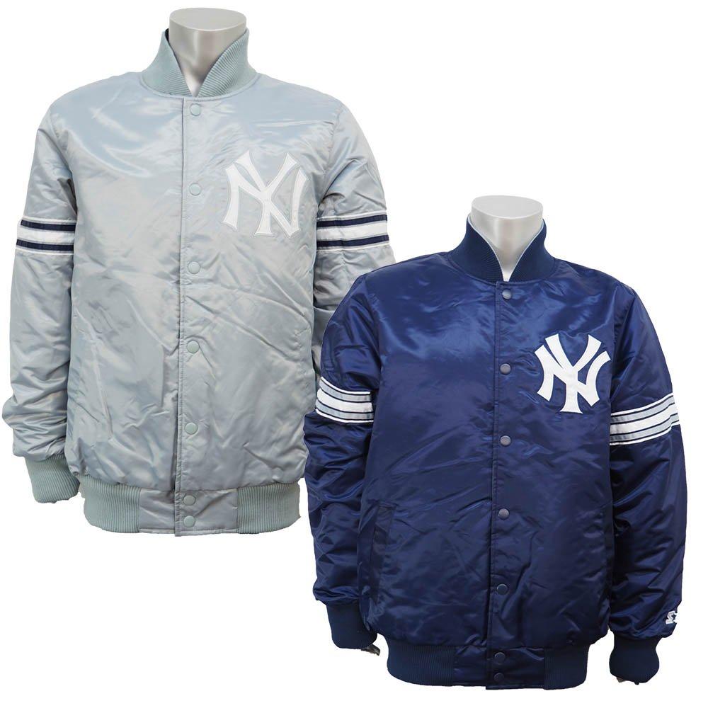 STARTER(スターター) MLB ニューヨークヤンキース レイニング チャンプ ジャケット B01M2D2QDF  Large