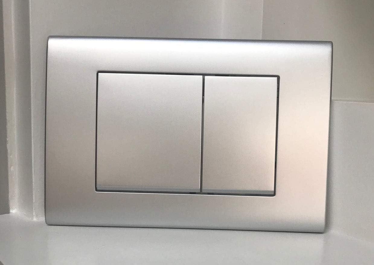 Chrome mat plaque de chasse pour Geberit UP320 UP720 Sigma Citernes P3
