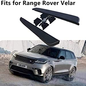 Auto Prich fits for Land Rover Range Rover Velar 2014-2020 Running Board Side Step Nerf bar 2PCS