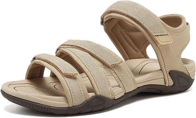 Amazon.com | WALUCAN Women's Sport Sandals Hiking Sandals Outdoor Light  Weight Water Shoes | Sport Sandals & Slides
