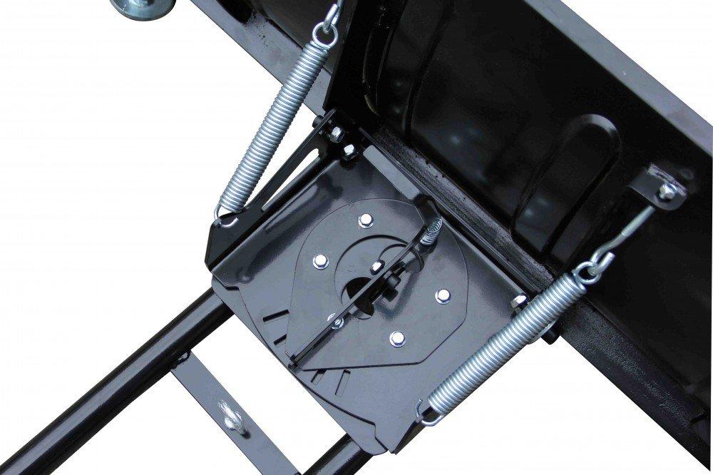 Breite Schneeschild:150 cm Ideal f/ür Quad Montageplatte und Deichsel ATV und Kleintraktoren Power Series/® Schneeschild mit Sch/ürfleiste Inclusive Gummilippe