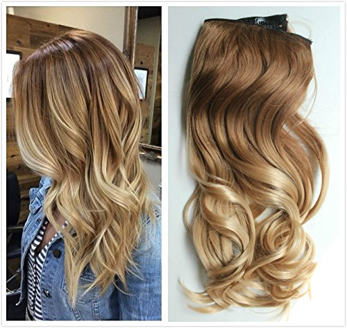 Inches Ombre Loose Extensions blonde