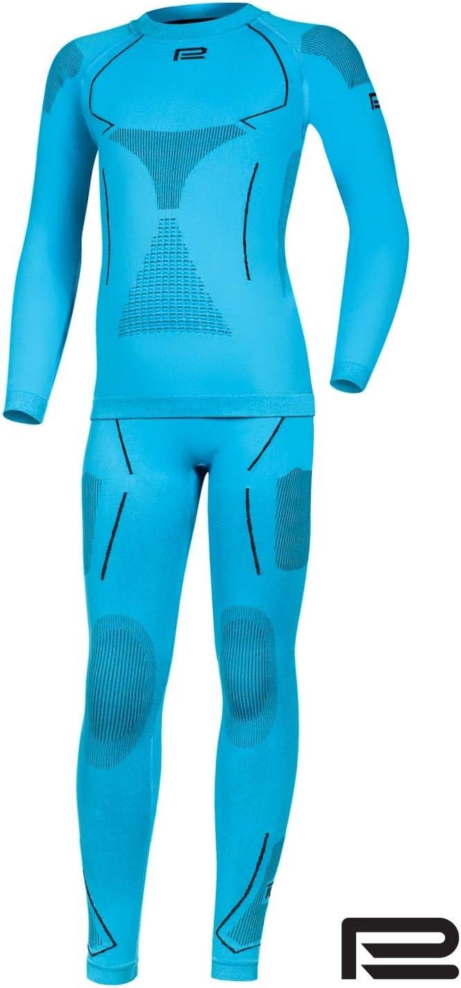 Prosske Damen Seamless Funktionsunterw/äsche Thermo Xtreme 2.0 Set Thermounterw/äsche Skiunterw/äsche Atmungsaktiv