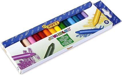Jovicolor-Ceras, Caja de 18 Unidades, Multicolor, Unica: Amazon.es: Oficina y papelería
