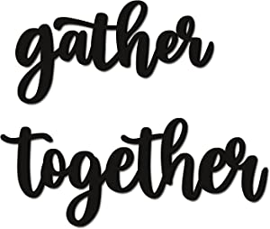 Huray Rayho Gather Together Wood Signs (14.4