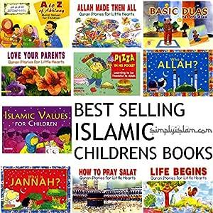 Mejor venta islámica libros para niños paquete 13 libros