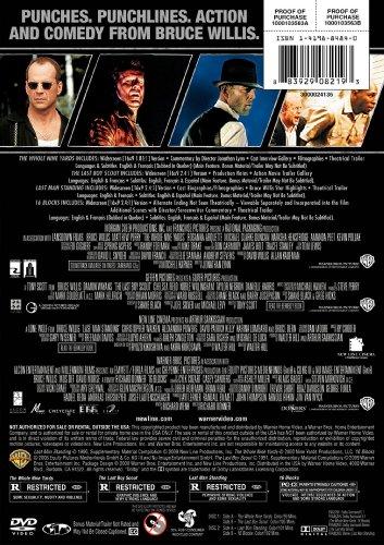4 Film Favorites: Bruce Willis (16 Blocks, The Last Boy Scout, Last Man Standing, The Whole Nine Yards)
