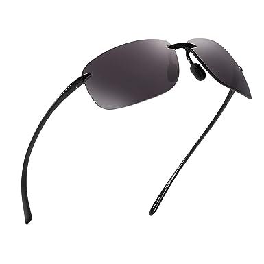 JIM HALO Deporte Gafas de Sol Para Hombre Mujer TR90 Sin Marco Borde Marco Irrompible Para Correr Pescar Béisbol Conducir