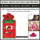 Herbal Hibiscus flowder powder for hair care & face care 100gm